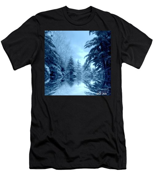 Winter Blues Men's T-Shirt (Athletic Fit)