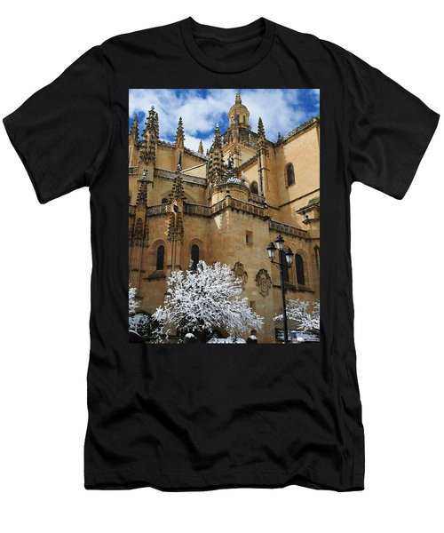 Winter Cathedral Men's T-Shirt (Athletic Fit)