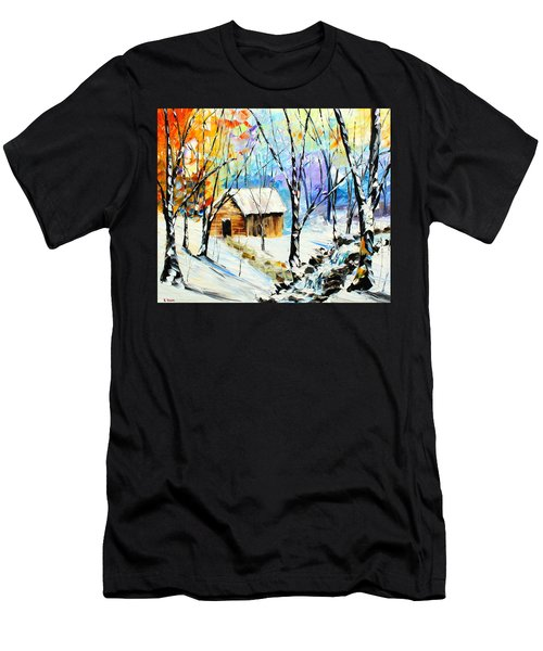 Winter Colors Men's T-Shirt (Athletic Fit)