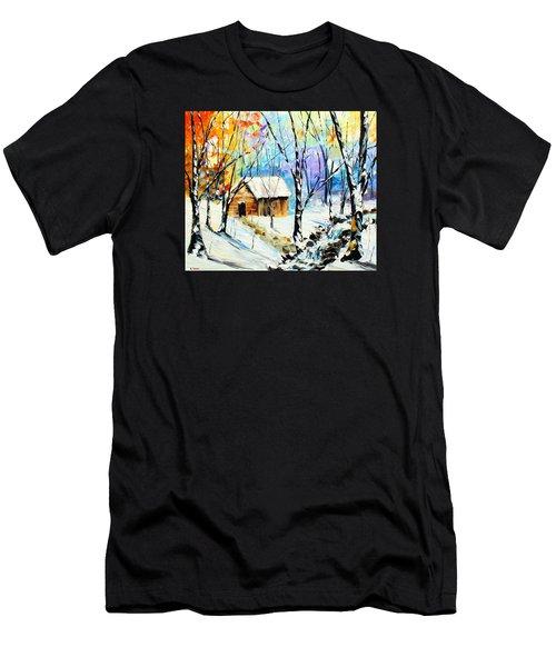 Winter Colors Men's T-Shirt (Athletic Fit)