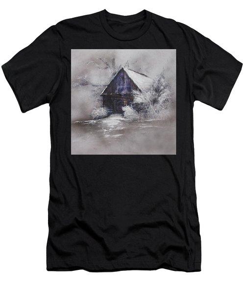 Winter Cottage Men's T-Shirt (Athletic Fit)
