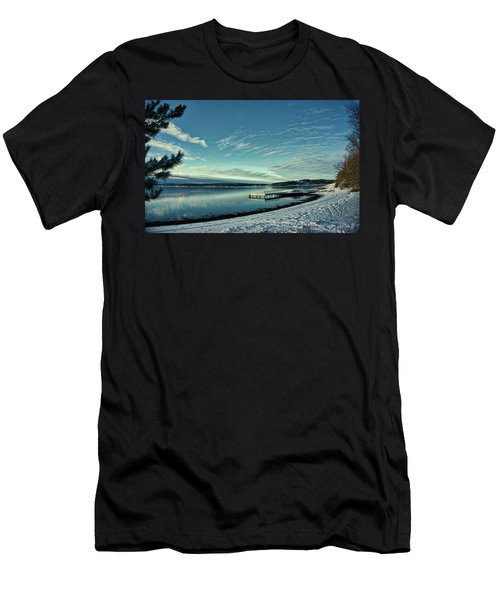 Winter Dock Men's T-Shirt (Athletic Fit)