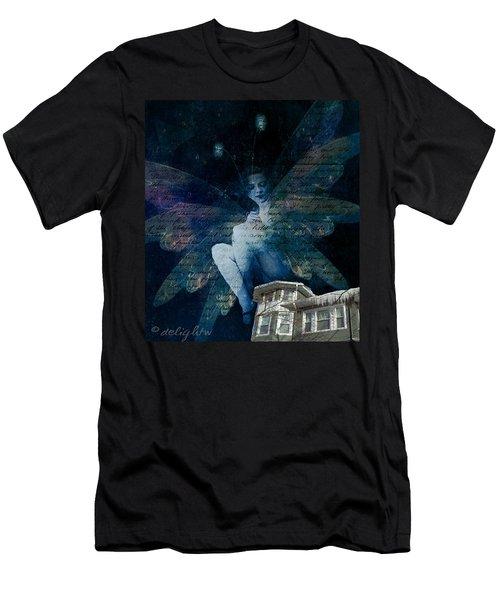 Winter Fairy Men's T-Shirt (Athletic Fit)