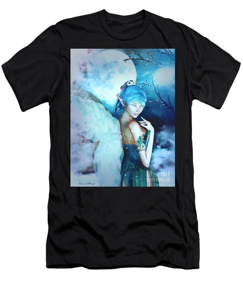 Winter Fairy In The Mist Men's T-Shirt (Athletic Fit)