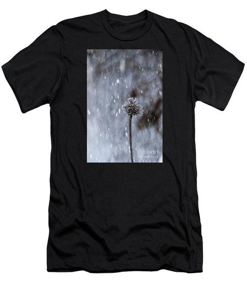 Winter Flower Men's T-Shirt (Athletic Fit)