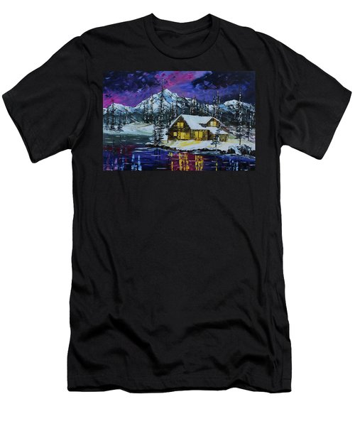 Winter Getaway Men's T-Shirt (Athletic Fit)