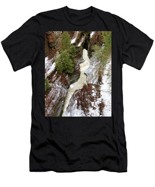 Winter Gorge Men's T-Shirt (Athletic Fit)