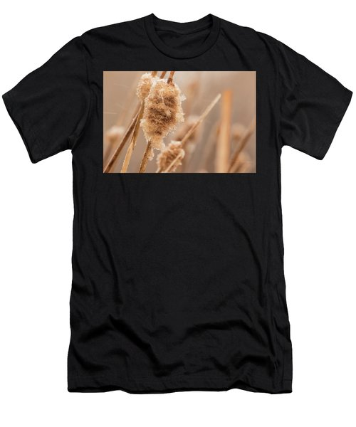 Men's T-Shirt (Athletic Fit) featuring the photograph Winter Ice by Tyson Kinnison
