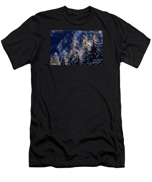 winter in Bavaria 9 Men's T-Shirt (Athletic Fit)