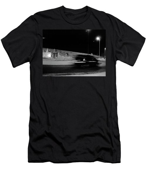 Men's T-Shirt (Slim Fit) featuring the photograph Winter In North Pole by Tara Lynn