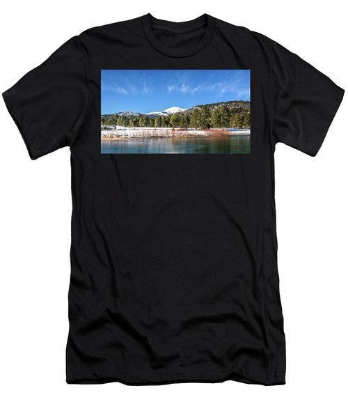 Winter In Ruidoso Men's T-Shirt (Athletic Fit)