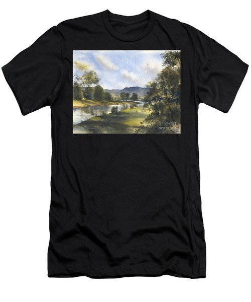 Winter In The Bellinger Valley Men's T-Shirt (Athletic Fit)