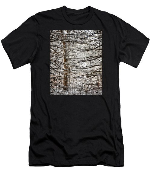 Winter In The Woods Men's T-Shirt (Athletic Fit)