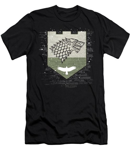 Winter Is Here Stark Banner Men's T-Shirt (Athletic Fit)
