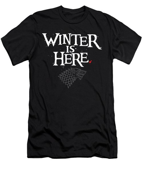 Winter Is Here - Stark Sigil Men's T-Shirt (Athletic Fit)