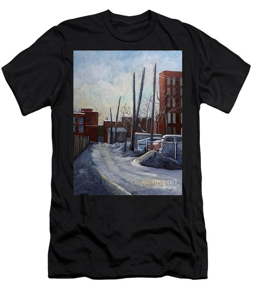 Winter Lane Men's T-Shirt (Athletic Fit)