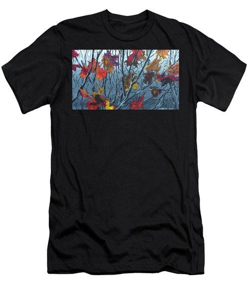Winter Maple Men's T-Shirt (Athletic Fit)