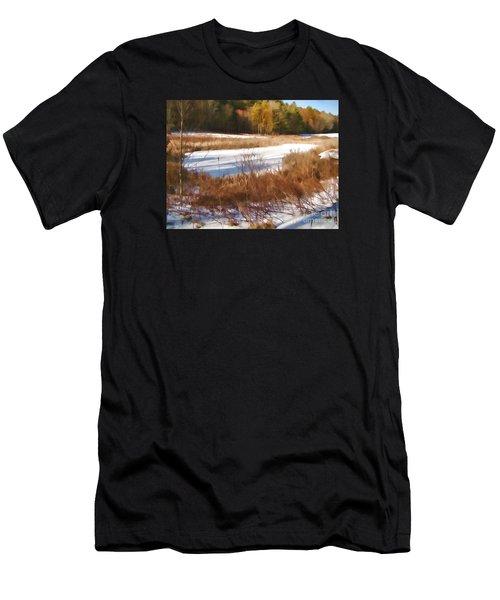 Winter Marsh Men's T-Shirt (Athletic Fit)