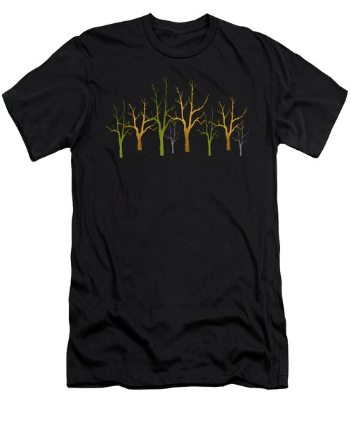 Winter Of Trees Men's T-Shirt (Athletic Fit)