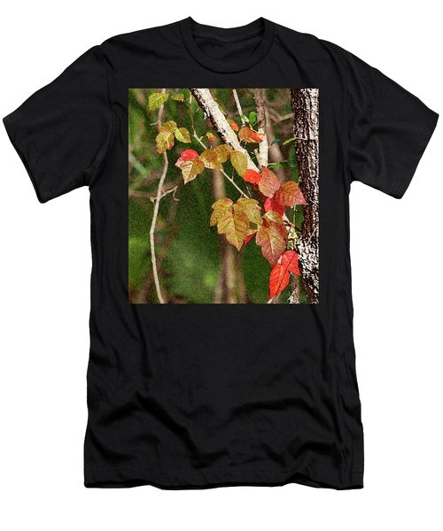 Winter On Gillot Blvd. Pt. Charlotte,fl Men's T-Shirt (Athletic Fit)