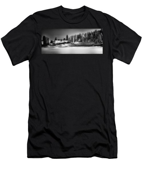 Winter On Grand Mesa Men's T-Shirt (Athletic Fit)