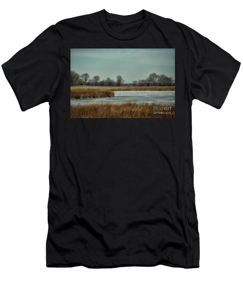 Winter On The Water Men's T-Shirt (Athletic Fit)