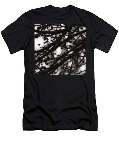 Winter Rain Men's T-Shirt (Athletic Fit)