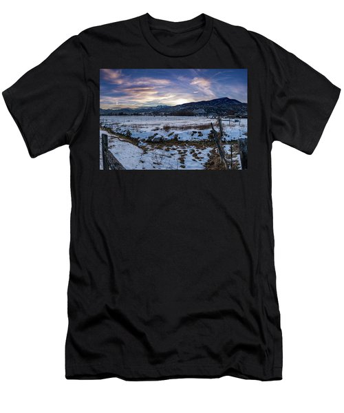 Sunset Range Men's T-Shirt (Athletic Fit)