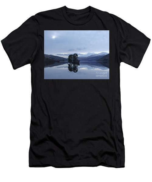 Winter Reflections - Loch Tay Men's T-Shirt (Athletic Fit)