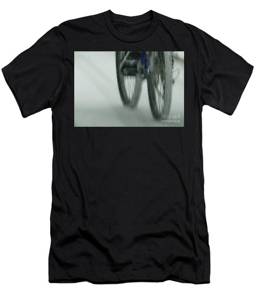 Winter Ride Men's T-Shirt (Athletic Fit)