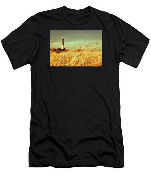 Winter Shore Breeze Men's T-Shirt (Athletic Fit)