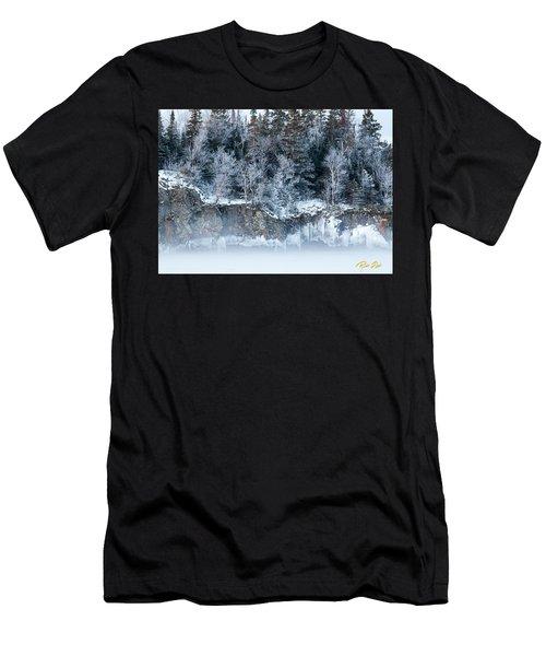 Winter Shore Men's T-Shirt (Athletic Fit)