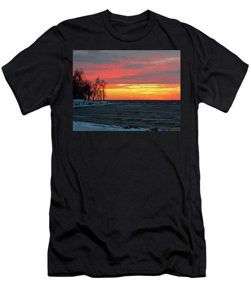 Winter Solstice Eve Men's T-Shirt (Athletic Fit)