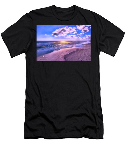 Winter Solstice Sunrise Men's T-Shirt (Athletic Fit)
