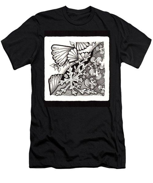 Winter Spring Summer 'n Fall Men's T-Shirt (Slim Fit) by Jan Steinle