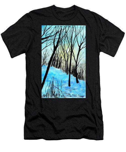 Winter Sunlight Men's T-Shirt (Athletic Fit)