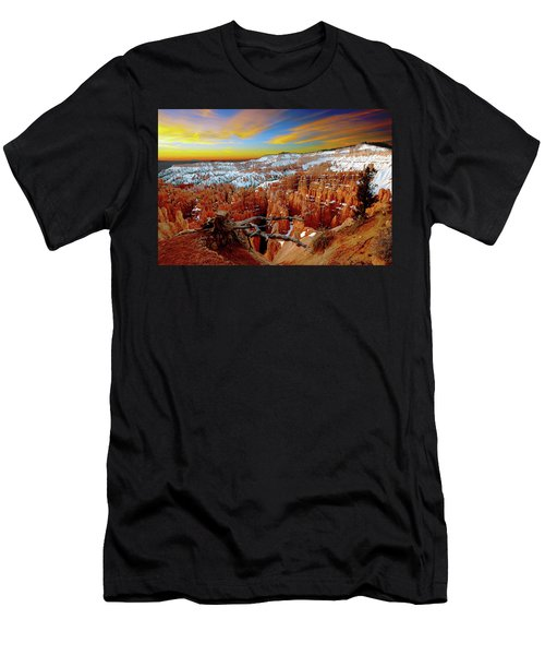 Winter Sunrise At Bryce Men's T-Shirt (Athletic Fit)