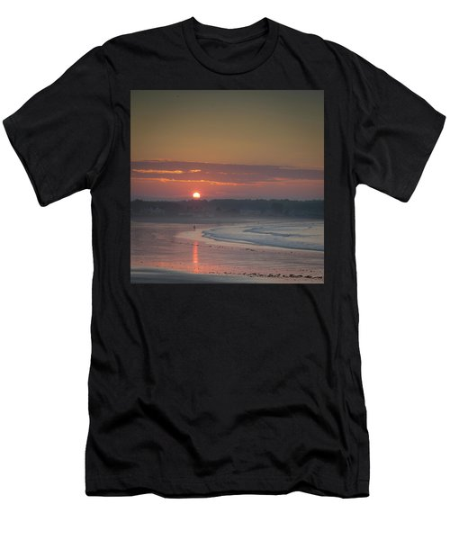 Winter Sunrise - Kennebunk Men's T-Shirt (Athletic Fit)