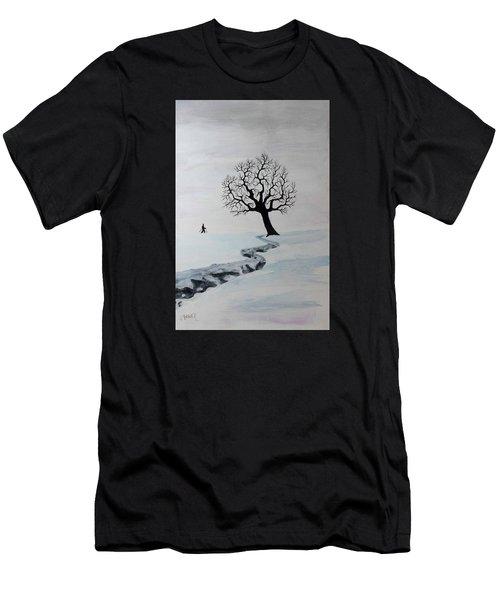 Winter Trek Men's T-Shirt (Athletic Fit)