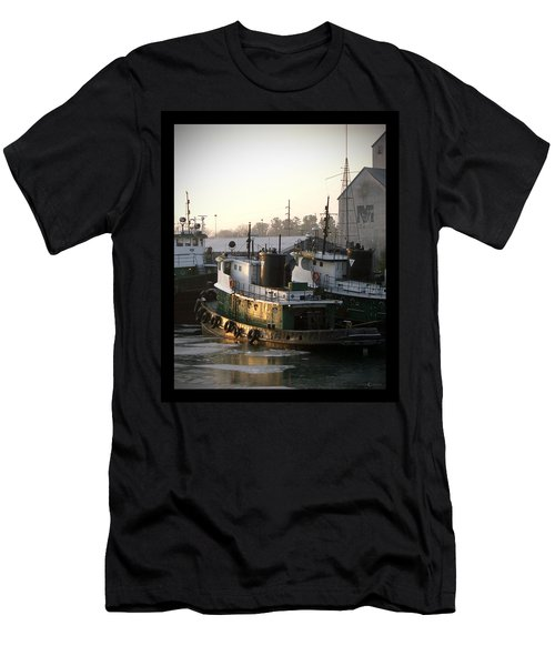 Winter Tugs Men's T-Shirt (Athletic Fit)