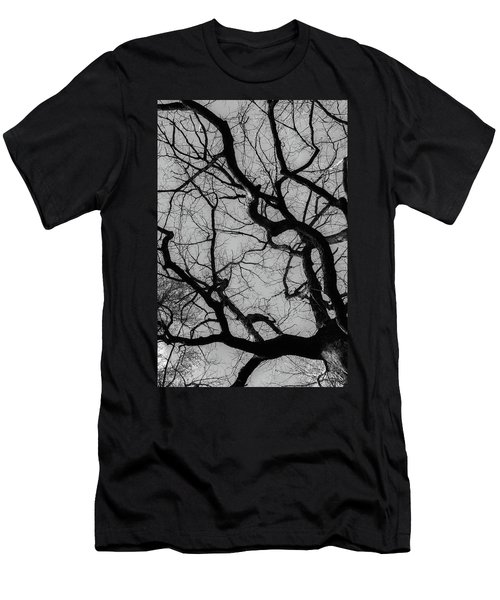 Winter Veins Men's T-Shirt (Athletic Fit)