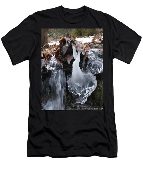 Winter Water Flow 5 Men's T-Shirt (Athletic Fit)