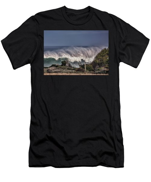 Winter Waves Men's T-Shirt (Slim Fit)