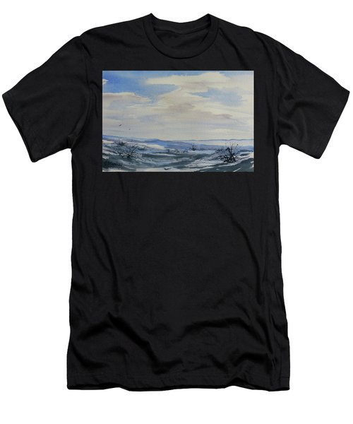 Winter Wilds Men's T-Shirt (Athletic Fit)