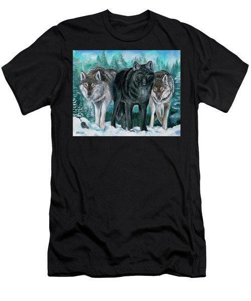 Winter Wolves Men's T-Shirt (Athletic Fit)