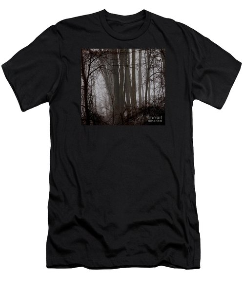Winter Woods Men's T-Shirt (Athletic Fit)