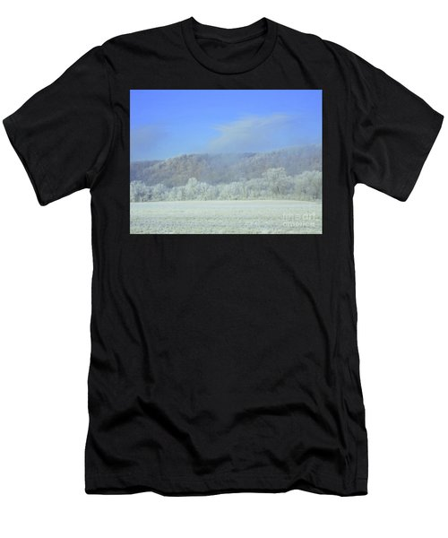 Winter's An Etching... Men's T-Shirt (Athletic Fit)