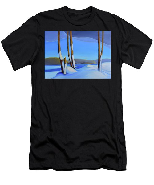Winter's Calm Men's T-Shirt (Athletic Fit)