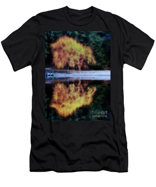 Winters' Embers Men's T-Shirt (Athletic Fit)