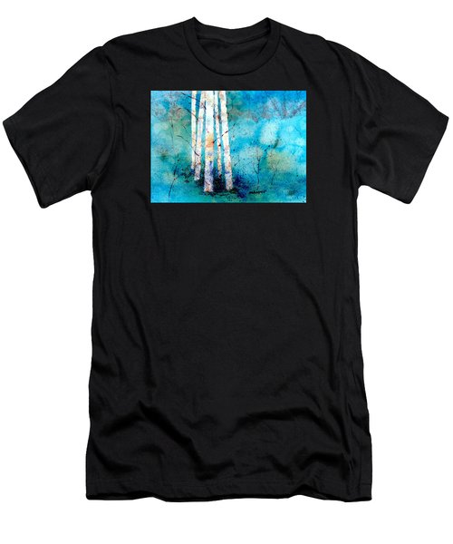 Wintry Aspen Men's T-Shirt (Athletic Fit)